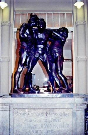Personagens do Fausto de Goethe, Leipzig